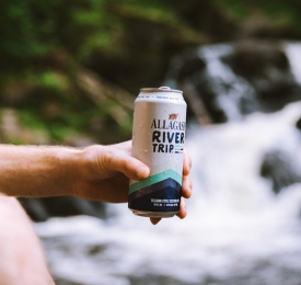 Can of Allagash River Trip