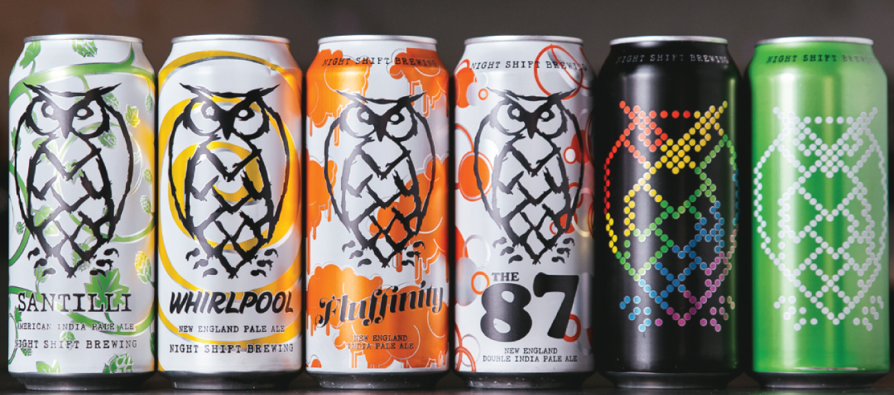 PROUD TO WELCOME NIGHT SHIFT BREWING AND ATHLETIC BREWING TO CRAFT MA